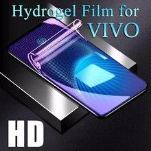 Soft Screen Protector For VIVO X60 X30 X50 V15 Pro V17 NEO IQOO 7 Hydrogel Film Y19 Y81S S7 Z5X Y50 Y70S Z3X HD Y85 Y91C