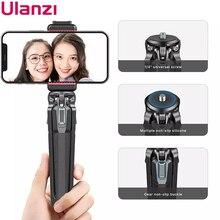 Ulanzi MT 37 מתכוונן מיני חצובה חדרגל Stand בסיס עבור DSLR מצלמה Gopro 9 8 7 iPhone 12 11 Pro מקסימום שולחן עבודה שולחן Tripode