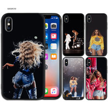 Beyonce Pop M Black Rubber Soft TPU Silicone Case Cover for iPhone X XS XR XS 11 11Pro Max 7 8 6 6S 5 5S 5C SE Plus Fundas Capa(China)