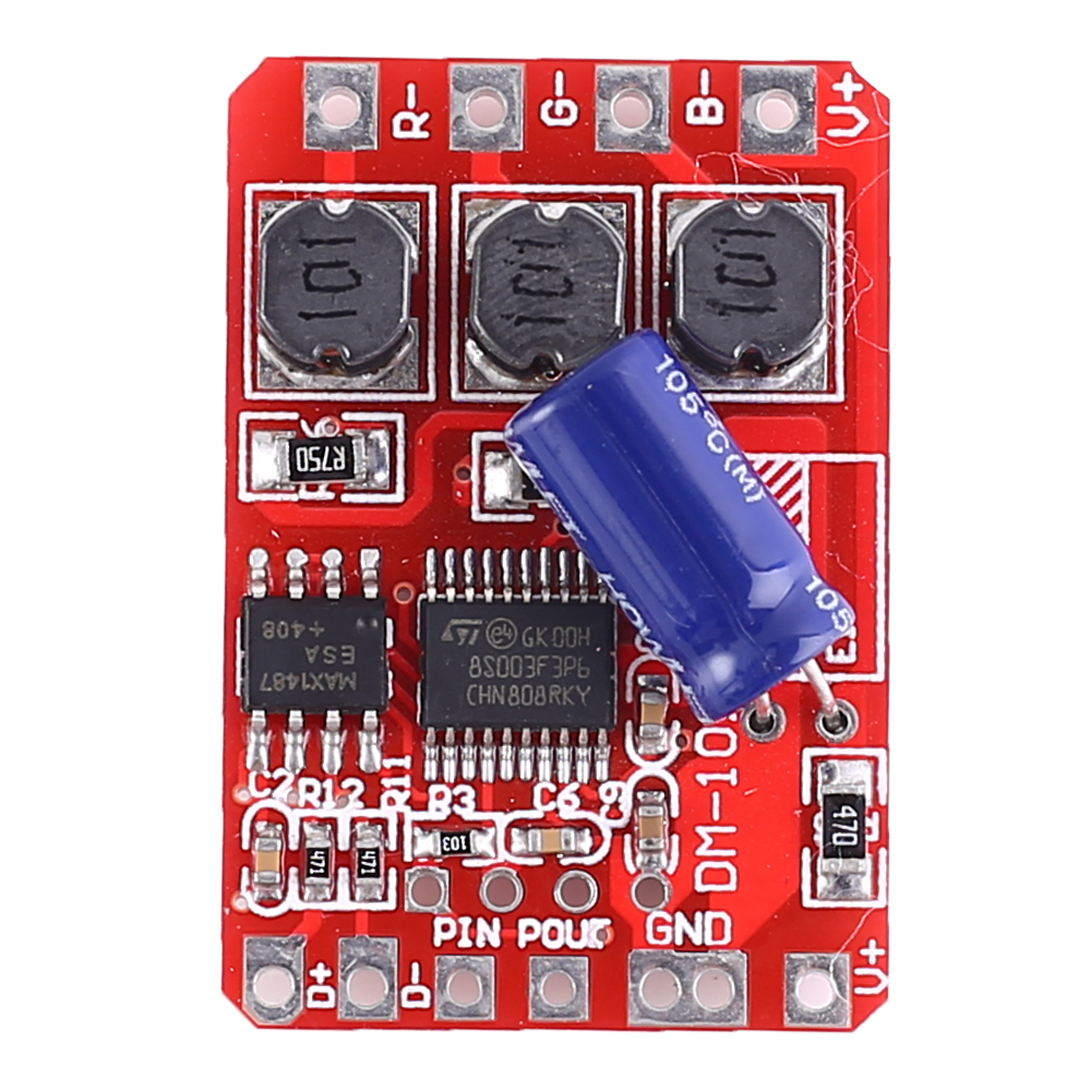 Decoder DMX512 3-Channel Smart Switch for 5050 RGB LED Light
