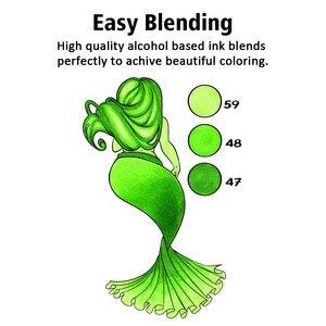 Image 5 - Touchnew סמן עט סט רך מברשת סמני כפולה טיפים 60/80 צבע אנימציה עבור חובבי אמנות מנגה ציור שרטוט אספקת אמנות