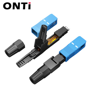Image 3 - ONTi 400pcs Embedded SC UPC Fiber Optic Fast Connector FTTH Single Mode Fiber Optic SC Quick Connector SC Adapter Field Assembly