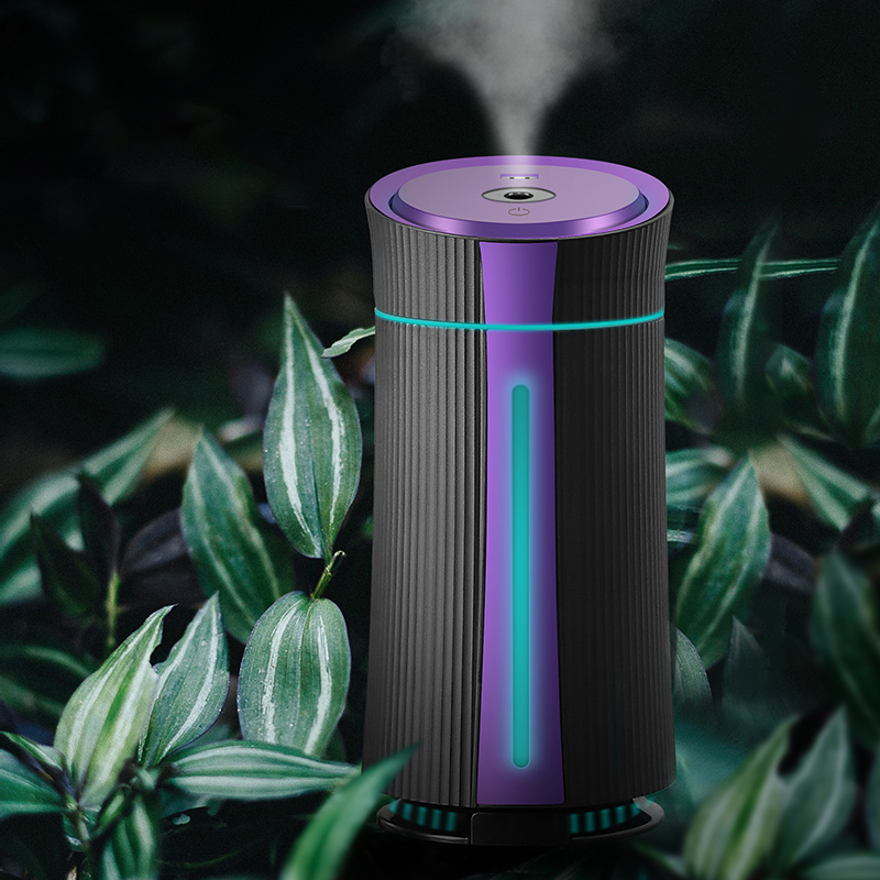 Air Humidifier Ultrasonic New 1100ML USB Diffuser Aroma Essential Oil 7 Color Night Light Cool Mist Purifier Humidificador Gift