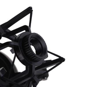 Студийный микрофон для записи стенд ударное крепление для компьютера конденсаторный микрофон держатель металлический Shockmount клип подвесной Паук кронштейн