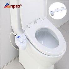 Anpro 非電気便座水スプリンクラー浴室機械式ビデ淡水ノズル単一スプリンクラートイレ洗浄ガン