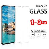 1-3 Pcs Voll Gehärtetem Glas Für UMIDIGI A9 A7 A5 A3 A1 S5 S3 PRO Screen Protector gehärtetem glas für UMIDIGI A7s Schutzhülle Film