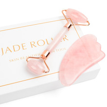 Massage Roller Facial Real Stone Beauty Massager Face Lift T
