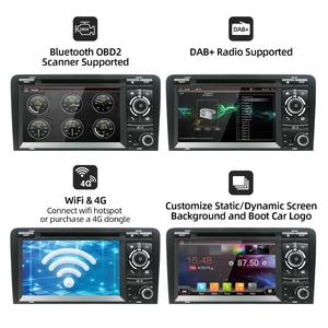 Image 2 - PX6 DSP Android 10.0 Car DVD GPS For Audi A3 2006 2011 with DVD Player Radio Stereo Audio Auto Multimedia Screen Navigation BT
