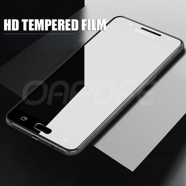 9H Anti-Burst Tempered Glass For Samsung Galaxy J3 J5 J7 A3 A5 A7 2016 2017 J2 J4 J7 Core J5 Preme S7 Screen Protector Glass 2