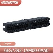 40pin フロントコネクタ 6ES7 392 1AM00 0AA0 適切なシーメンス S7 300 PLC 6ES7392 1AM00 0AA0