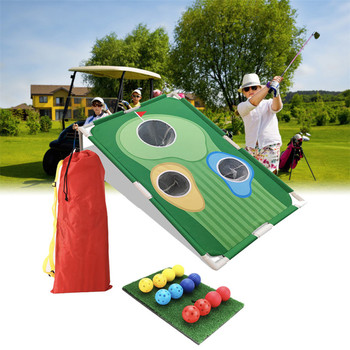glasses bar wine game enjoyment golf drinking game durable family golf table game desktop party Mini Golf Practice Set Backyard Golf Cornhole Game Fun New Golf Game for All Ages Abilities Sport GameFeatures
