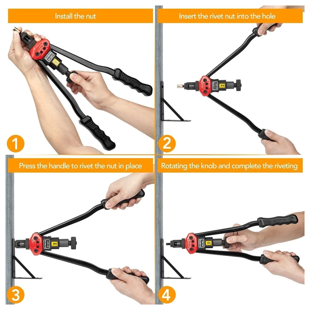 Fácil conjunto de ferramentas rebite automático manual