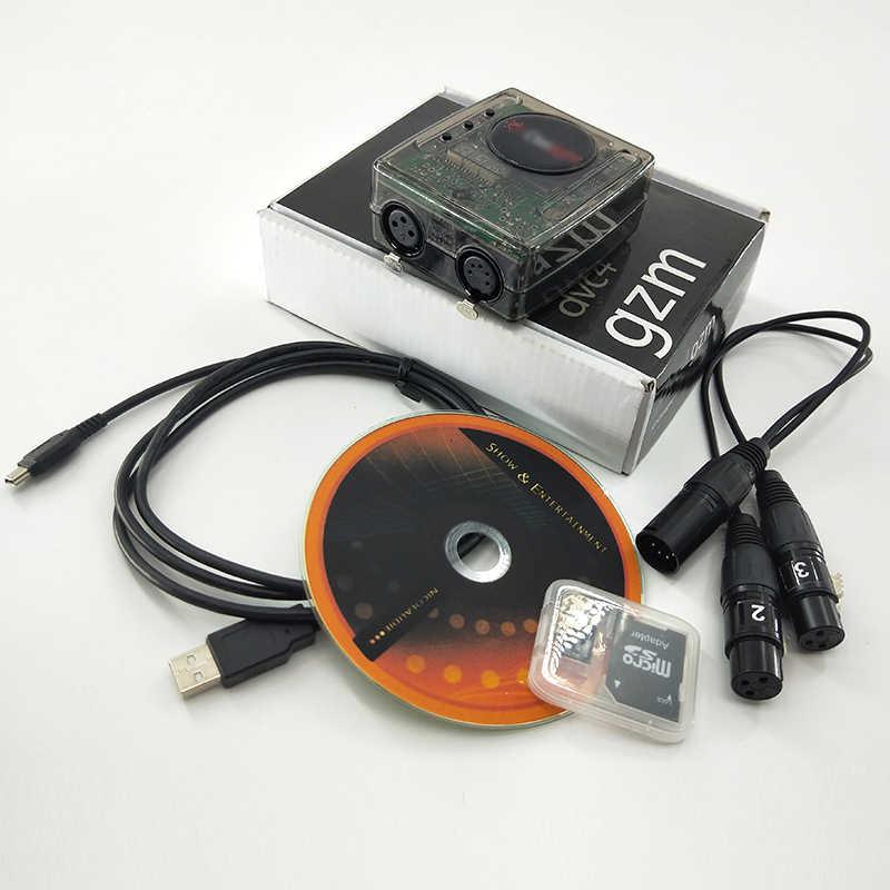 Daslight 4 Controller DMX Tahap Mengendalikan Software 1536 DMX TV Cocok untuk IOS Baik untuk Dj KTV Partai Panggung DMX512