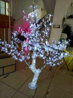 Comparar Rusia envío gratis navidad Año Nuevo Fiesta vacaciones decoración 1 5 M luz LED cristal Cerezo
