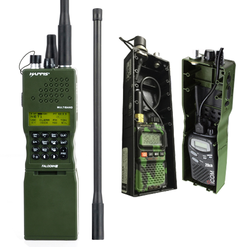 PRC-152 Radio Dummy Radio Case No Function Fit UV-3R Talkie Walkie Z Tactical Case AN/ PRC 152 Radio Case & Radio Pouch Bag