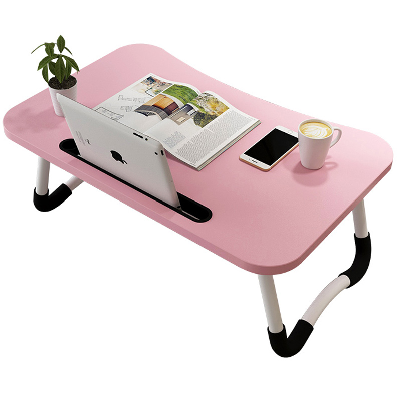 Bed Table Computer Table Multi-function Lazy Folding Table Bedroom Dormitory Student Study Desk Bedside Table Small Table