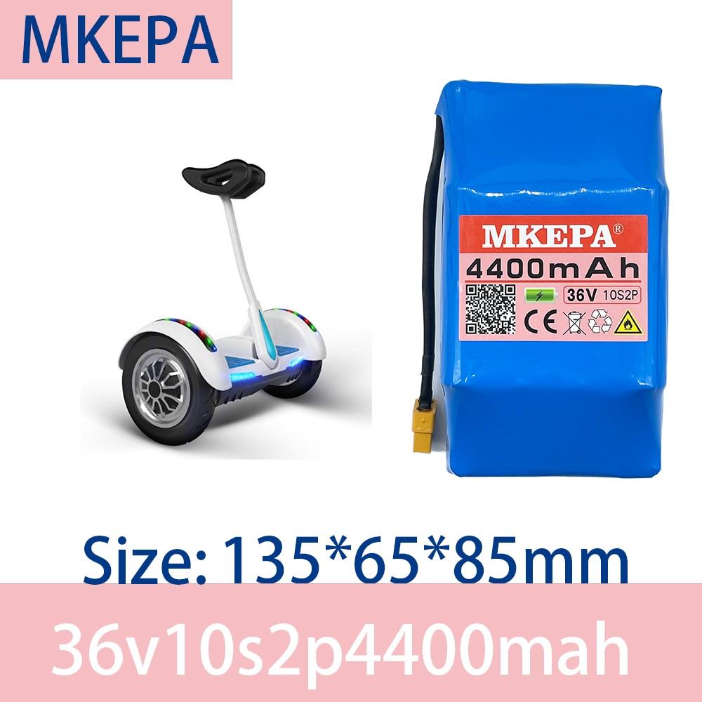 MKEPA – batterie 10s2p lithium-ion 36V, 4,4 ah, 4400mAh, pour scooter, 42V, 4400mAh