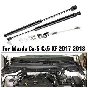 Image 1 - Araba motoru kapağı destekler çubuk ön Bonnet Hood kaldırma hidrolik çubuk dikme bahar şok Bar Mazda CX5 CX 5 2017 2018