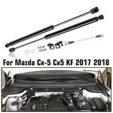 車のエンジンカバーサポート struts ロッドフロントボンネットフードリフト油圧ロッドストマツダ CX5 CX 5 2017 2018