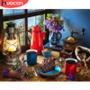 HUACAN Picture By Numbers Food HandPainted DIY Gift Home Decoration Kit Drawing On Canvas Oil Painting Flower Wall Art