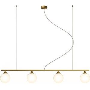 Image 5 - 북유럽 식당 모든 구리 LED 샹들리에 현대 유리 공 거실 매달려 램프 침실 조명기구 연구 조명