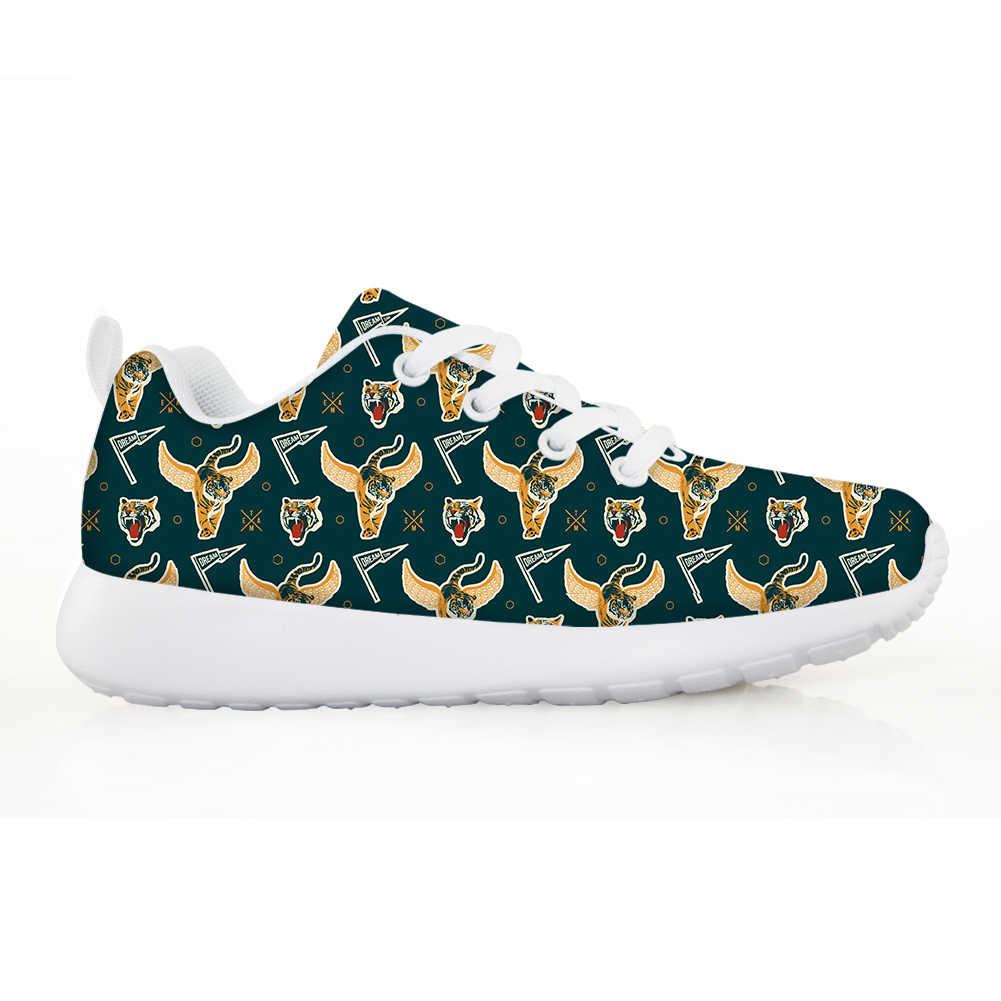 NOISYDESIGNS 2020 אביב ילדים חדשים נעלי בני אותיות לנשימה ילדי סניקרס קל משקל ריצה ספורט Tenis Kadin Ayakkabı