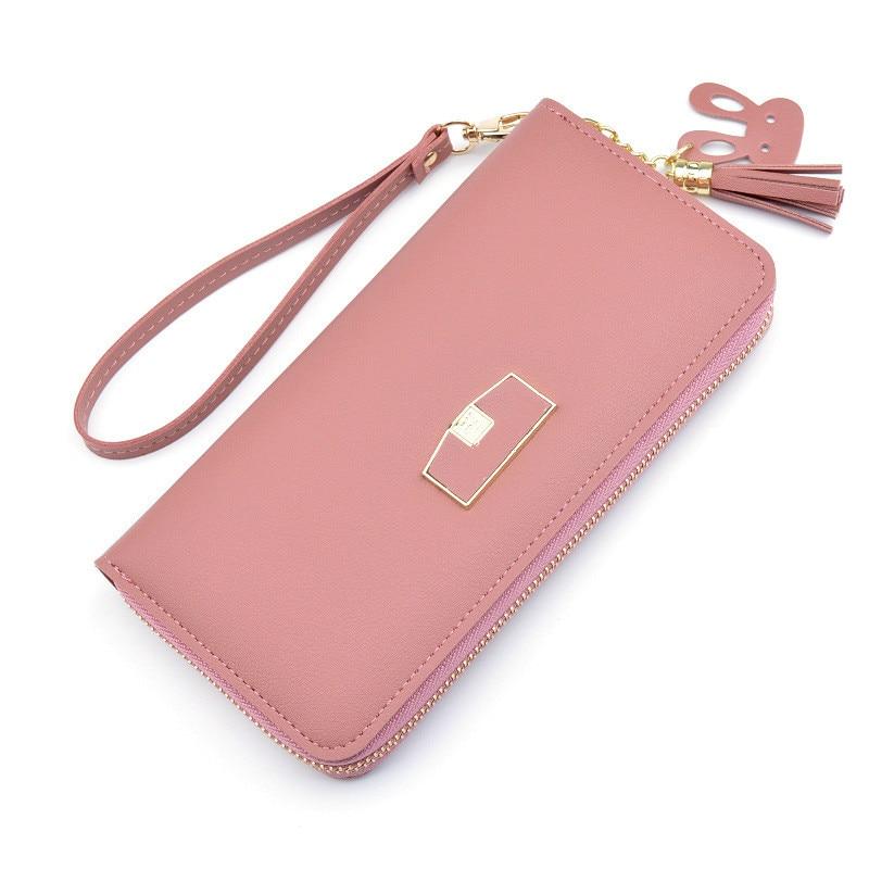 Tassel Wallets Women Long Clutch Wallet Large Capacity Wallets Female Purse Lady Purses Phone Pocket Card Holder Cartera Mujer