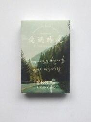 L3-Time Ландшафтная бумага поздравительная открытка ЛОМО (1 упаковка = 28 штук)