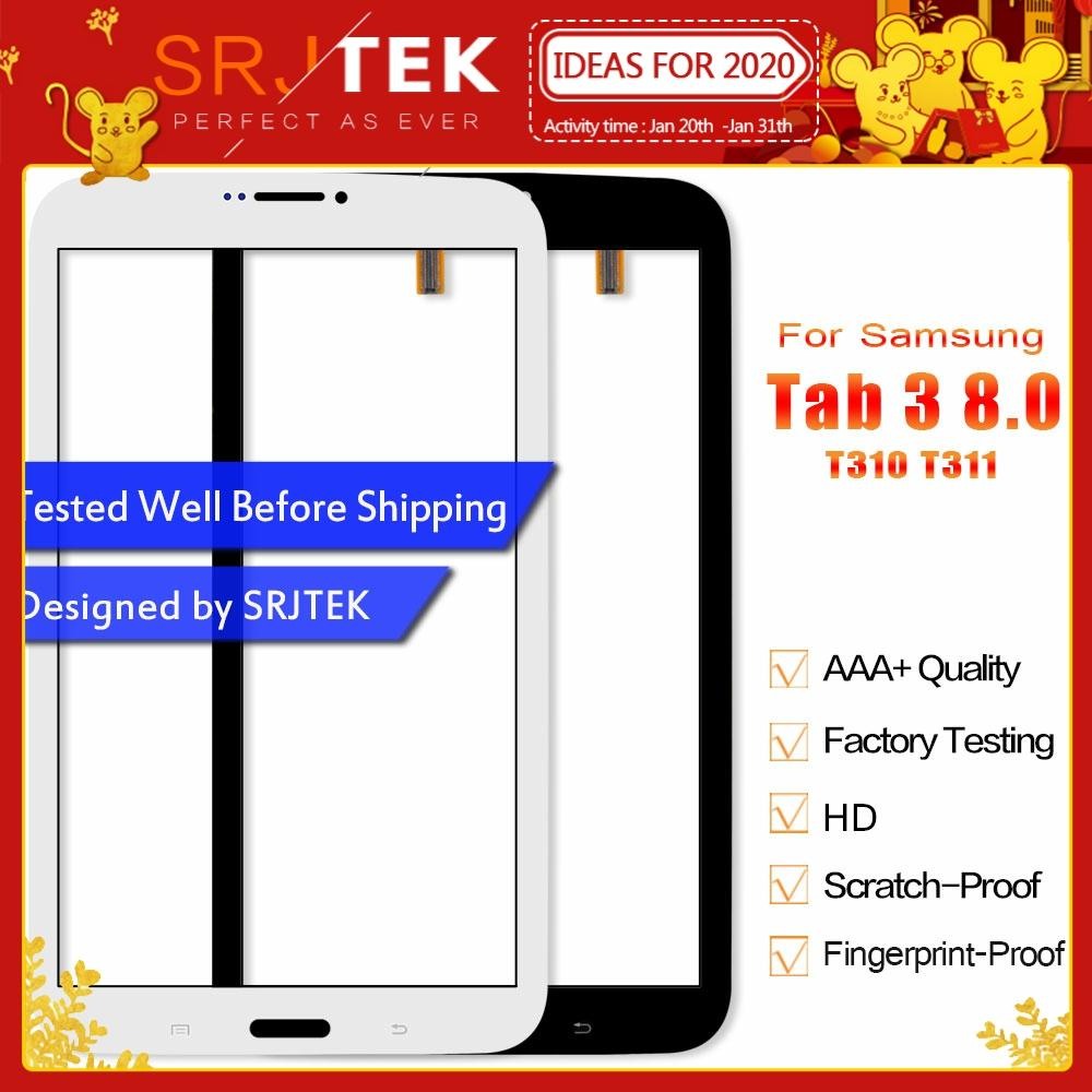 Srjtek 8.0 Touchscreen For Samsung Galaxy Tab 3 8.0 T310 <font><b>T311</b></font> <font><b>SM</b></font>-T310 <font><b>SM</b></font>-<font><b>T311</b></font> Touch Screen Digitizer Sensor Tablet PC Parts image