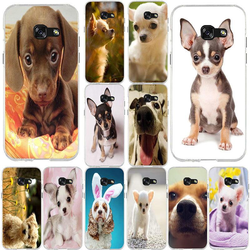 Soft <font><b>Cases</b></font> For <font><b>Samsung</b></font> Galaxy <font><b>Note</b></font> 2 3 4 5 8 <font><b>9</b></font> 10 M10 M20 M30 M40 A10 A20 A30 A40 A50 A60 A70 A80 A90 <font><b>Funny</b></font> Chihuahua Dog Puppy image