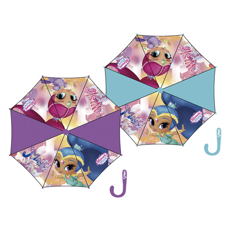 Umbrella Shimmer And Shine Automatic 48 Cm.