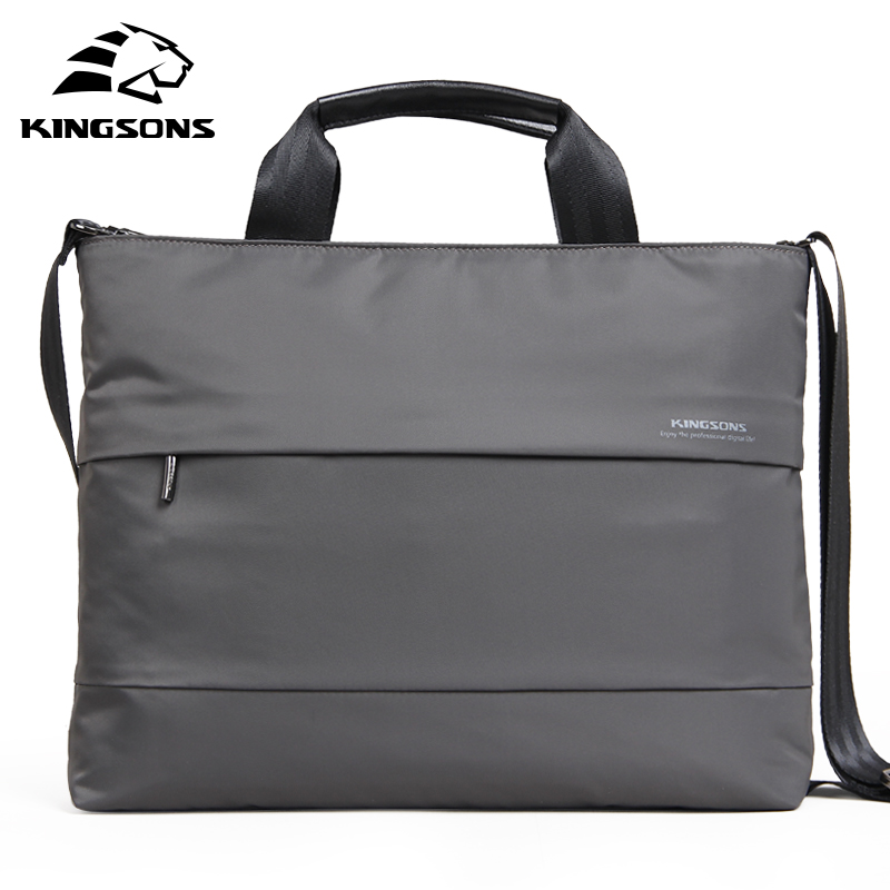 Kingsons 13.3'' 15.4'' inch Laptop Handbag Waterproof Women Crossbody Bags Shoulder Messenger Bag Ladies Girls Handbags title=