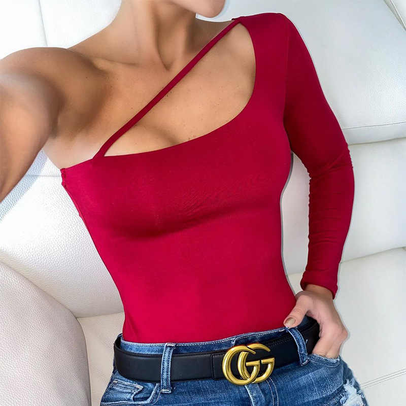 2019 outono mulheres sexy bodysuit inverno moda casual bodycon sólido branco vermelho bodysuits corpo para as mulheres do sexo feminino