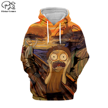 PLstar Cosmos Funny Scream Rick and Morty horror Unisex Tracksuit 3DPrint Hoodie/Sweatshirt/Jacket/shirts Men Women Harajuku S-1