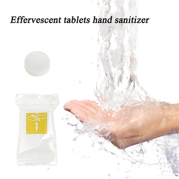 1 pc Anti germs Effervescent tablets hand sanitizer foam Super clean power strong disinfect Hand cleaning tablets Dropship TSLM1