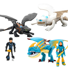 923cm Dragon Light Fury Toothless Action figure White Toys For Childrens Birthday Gifts