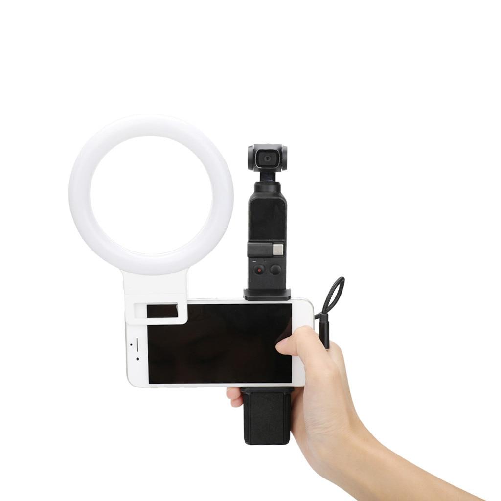 cheapest HobbyLane Mobile Phone Live Set Pocket Self-Timer Fill Light Phone Clamp Bracket Mount Desktop Tripod d35