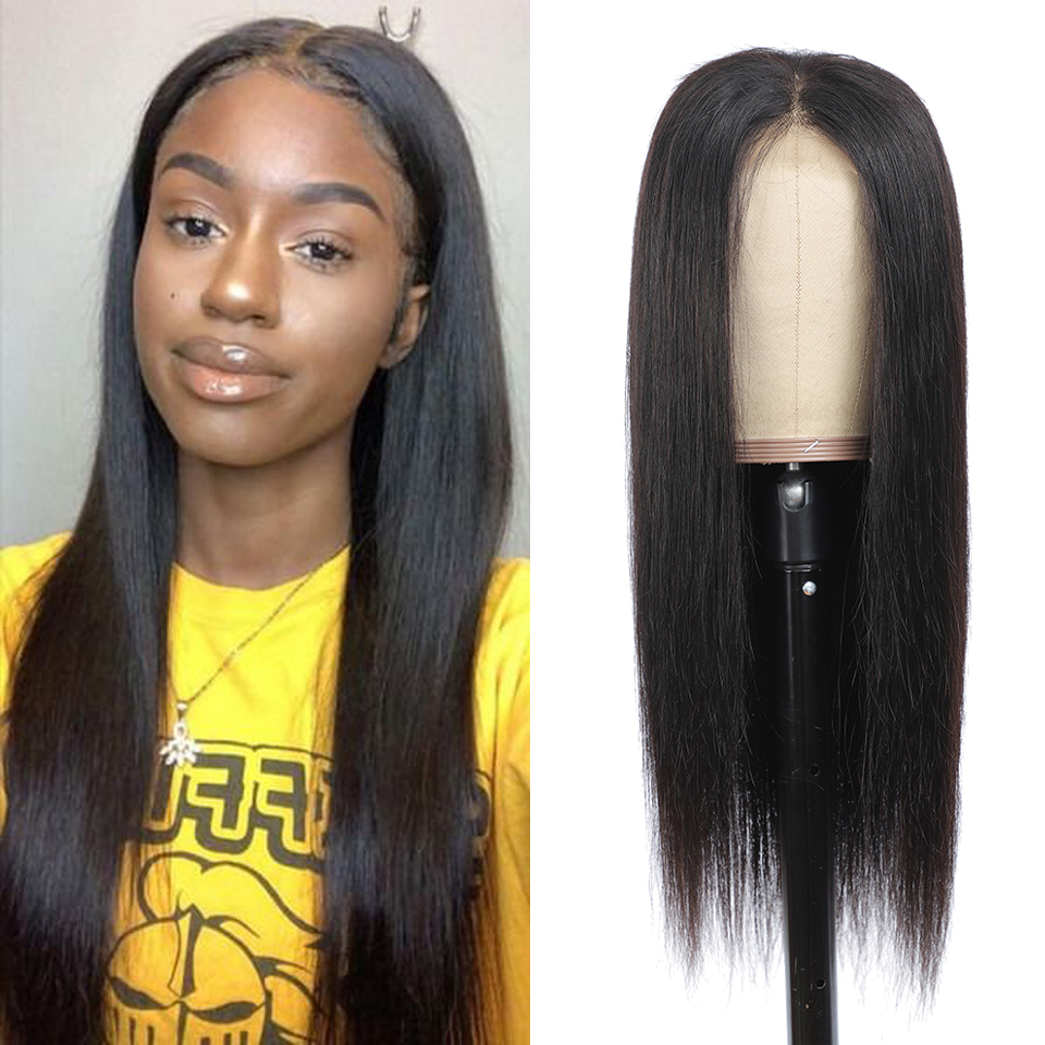 Lace Front  Wigs Straight 13x4 Pre Plucked 180%   Hair Wig 4x4 Closure Wig 30 Inch Frontal Wigs  1