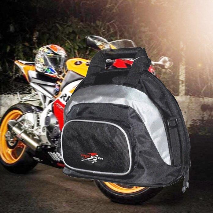 PRO-BIKER 1 шт. сумка на шлем для мотокросса, сумка на хвост, Вместительная дорожная сумка для багажа, водонепроницаемый рюкзак, сумка для инструм...