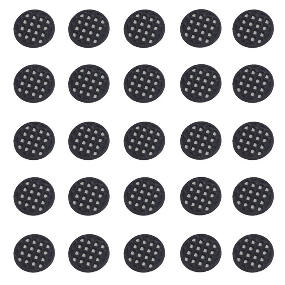 100pcs/bag Accessory Bonsai Durable Anti Corrosion Round Bottom Grid Mat Home Breathable Leakproof Protection Flowerpot Mesh Pad