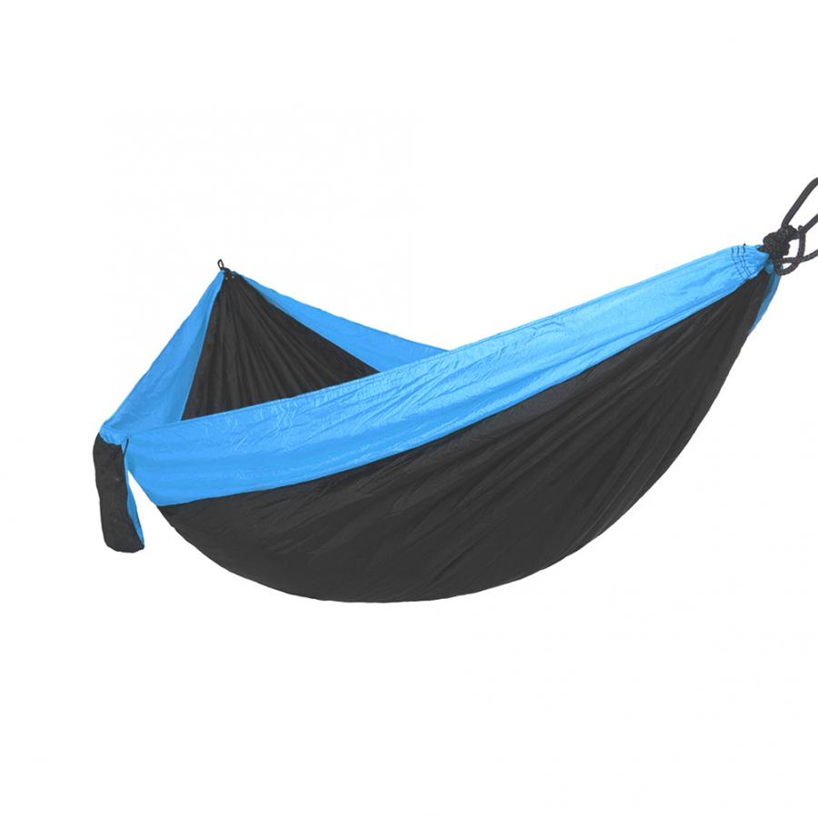 One Person Camping Hammock Nylon Portable Outdoor Travel Hanging Sleeping Bed