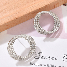 Gold Color Silver Hoop Earrings for Women Hoops 2020 New Trendy Big Fashion Jewelry Accessories