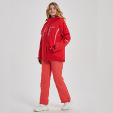 Pants Snowboarding-Suits Snow-Jackets Skiing Waterproof Winter Women And Breathable High-Quality