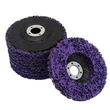 5 шт. прочный Поли полосы диск колеса 100x16 мм деревянная металлическая краска удаления ржавчины чистые абразивные инструменты для углового шлифовального станка