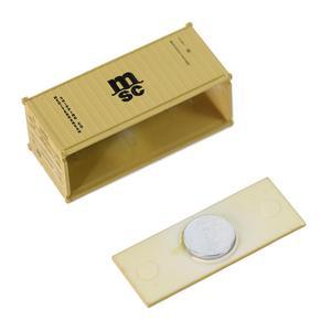 Image 2 - Contenedor de 20 pies de escala N mixto, contenedor de envío de 1:150 20 pies, accesorio de modelo, 3 uds.