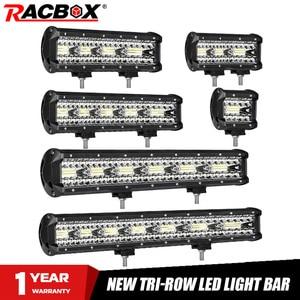 Image 1 - 4 7 9 12 15 18 20 Inch Offroad LED Bar Lũ Điểm Combo Xà Đơn Làm Việc Đèn Sương Mù đèn Trợ Sáng Cho UAZ KTM SUV ATV Đèn Pha