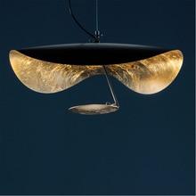 Postmodern Minimalism Led Pendant Lights Flying Saucer Hat Art Home Decor Hanglamp Living Room Restaurant Kitchen Hanging