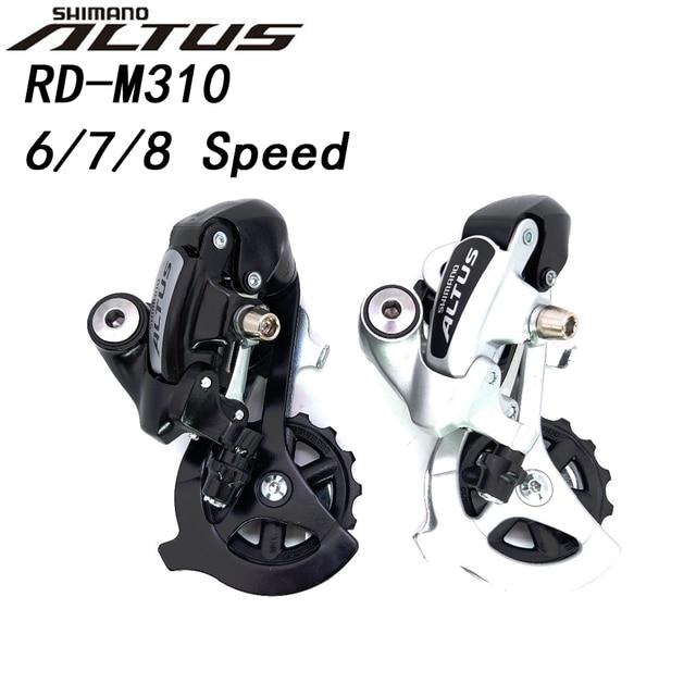 Задний переключатель передач Shimano ALTUS RD M310 M310 7/8 speed 3x7s 3x8s