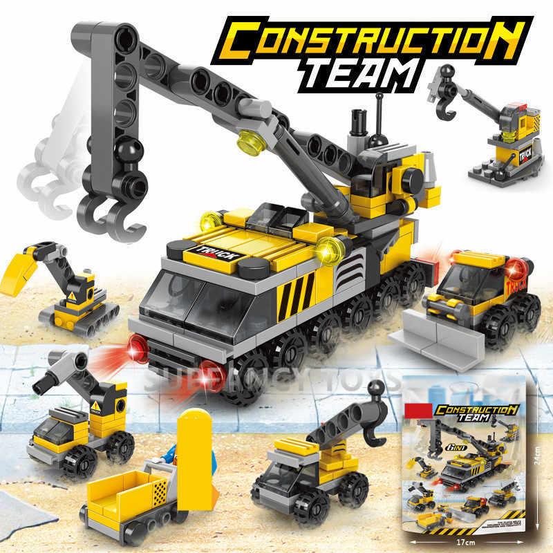 Juego de bloques de construcción de la policía de fuego de ciudad, equipo de ataque militar, combate, vehículo de bloques de construcción, Playmobil Friends, juguetes de ladrillos creativos para niños