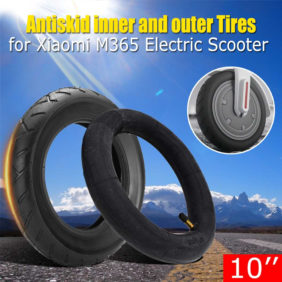 10/'/' Outer Tire Inner Tube Wheel For Xiaomi Mijia M365//PRO Electric Scooter